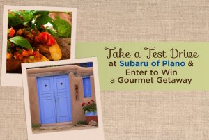 gourmet getaway at subaru of plano